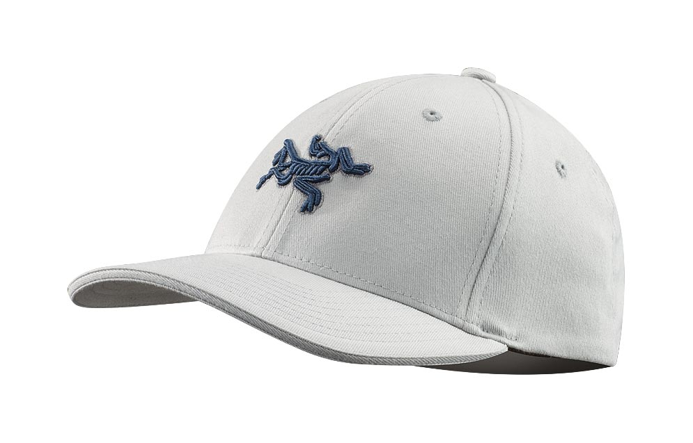 Arcteryx Pearl Gray Embroidered Bird Cap